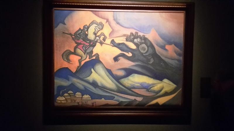 Москва:Картины Рериха на выставке «Художественные сокровища России»